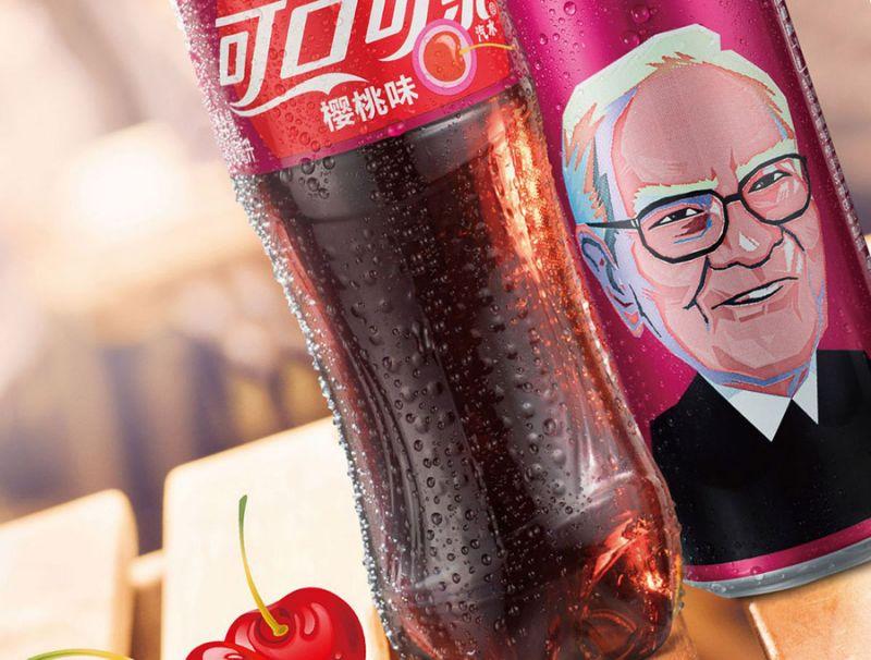 Warren Buffett's Face Will Adorn Cans of Cherry Coke in China